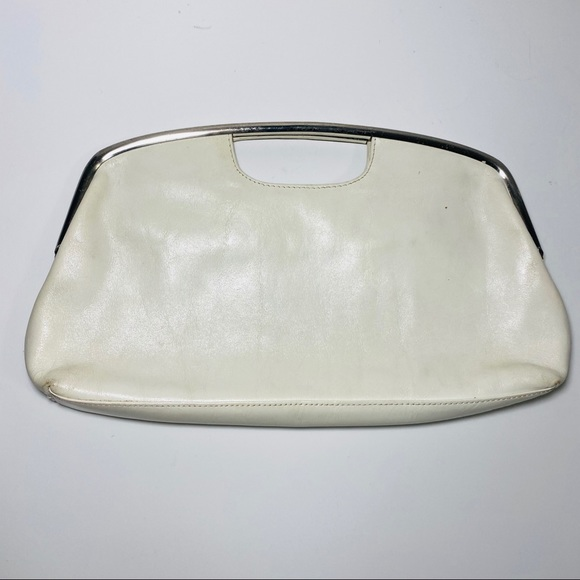 HOBO Handbags - HOBO International Ivory Off White Clutch Handbag